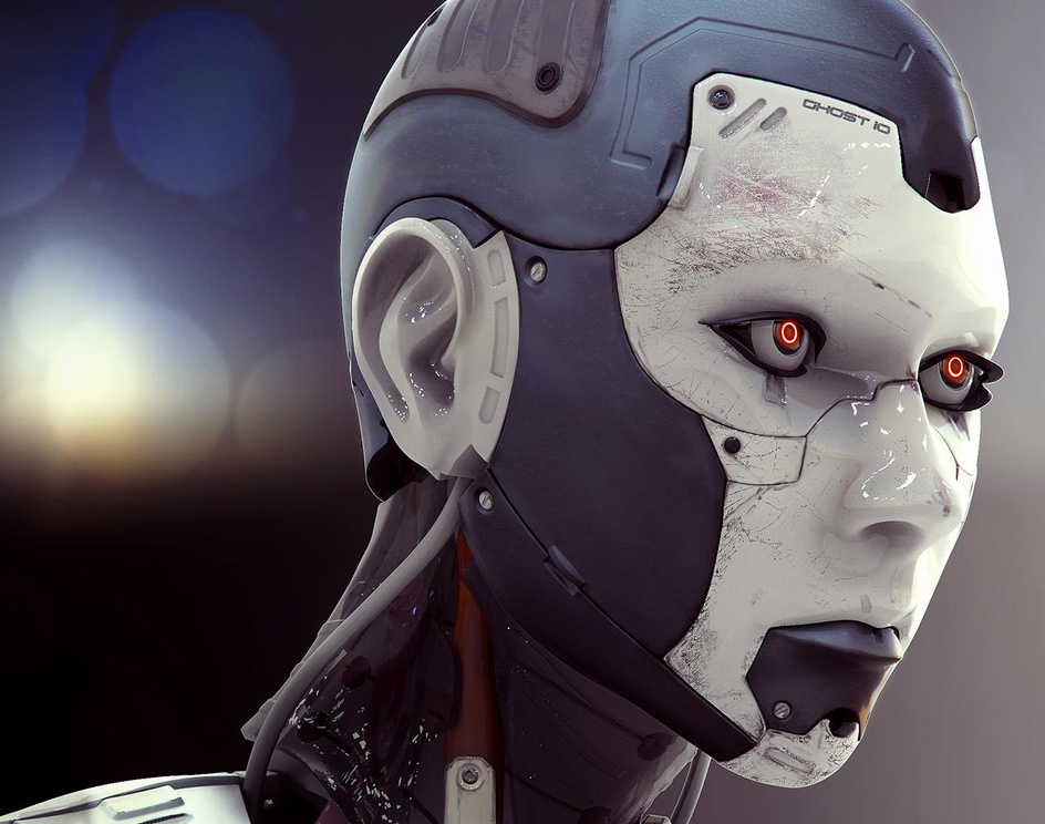Cyborg Femaleby Lance Wilkinson