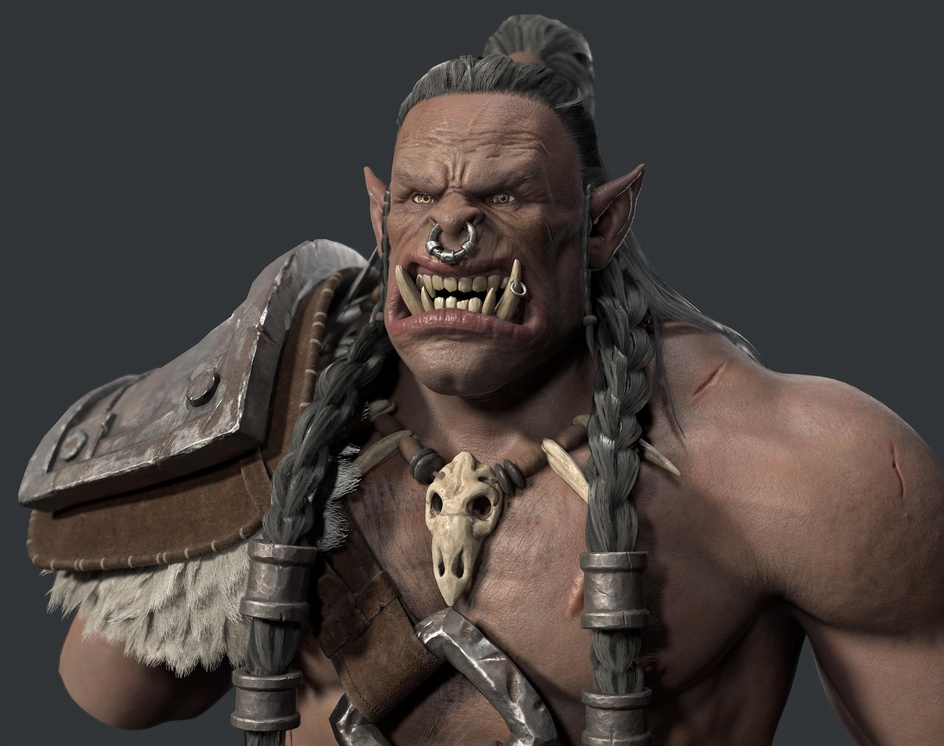 Orc Bustby Marcelo Moraes