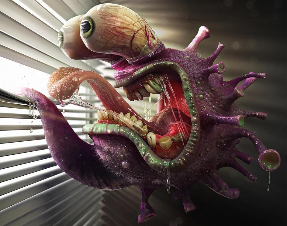 Virus in the windowby oryan