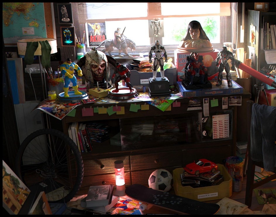 Geek Roomby OscarPerez