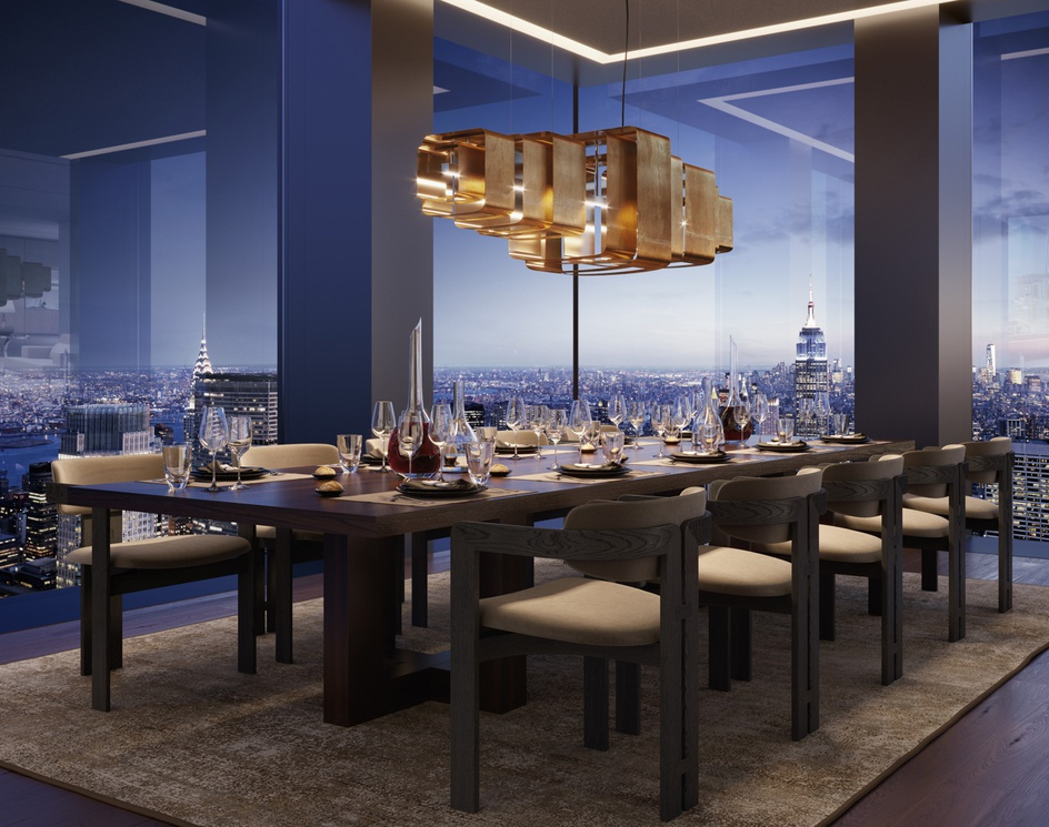 5th Avenue Tower   Dining Roomby Oxygen