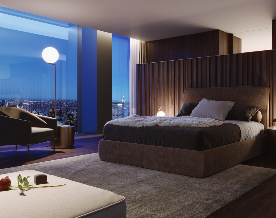 5th Avenue Tower   Master Bedroomby Oxygen