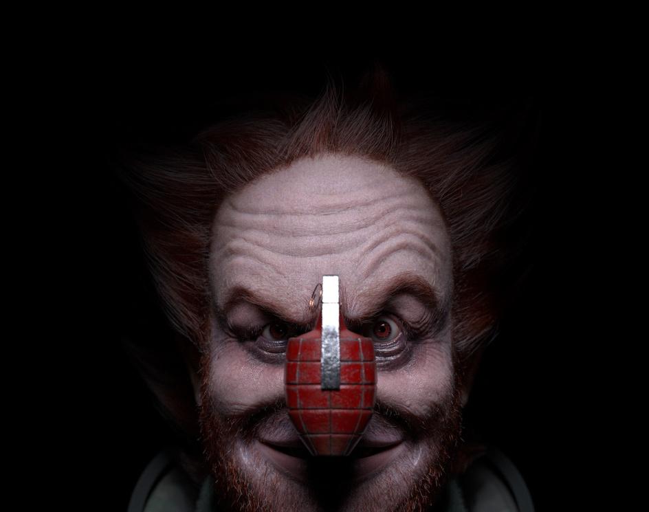 OZOB - The Replicant Clownby Renan Menendes