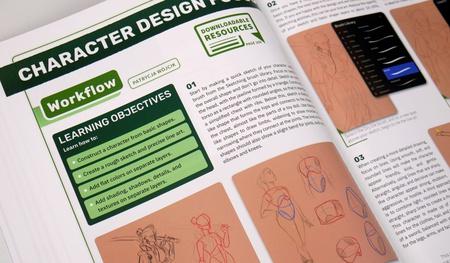 character design workflow rendering 2d illustrations