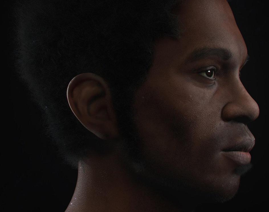 Black man vray RT 3.0by pabloperdomo