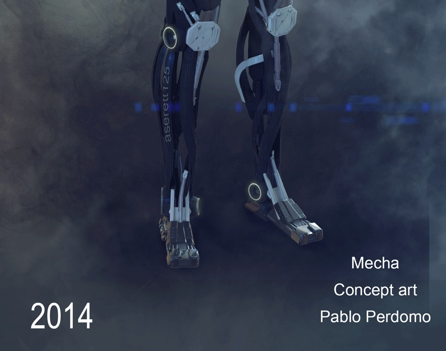 Mech 3by pabloperdomo4d