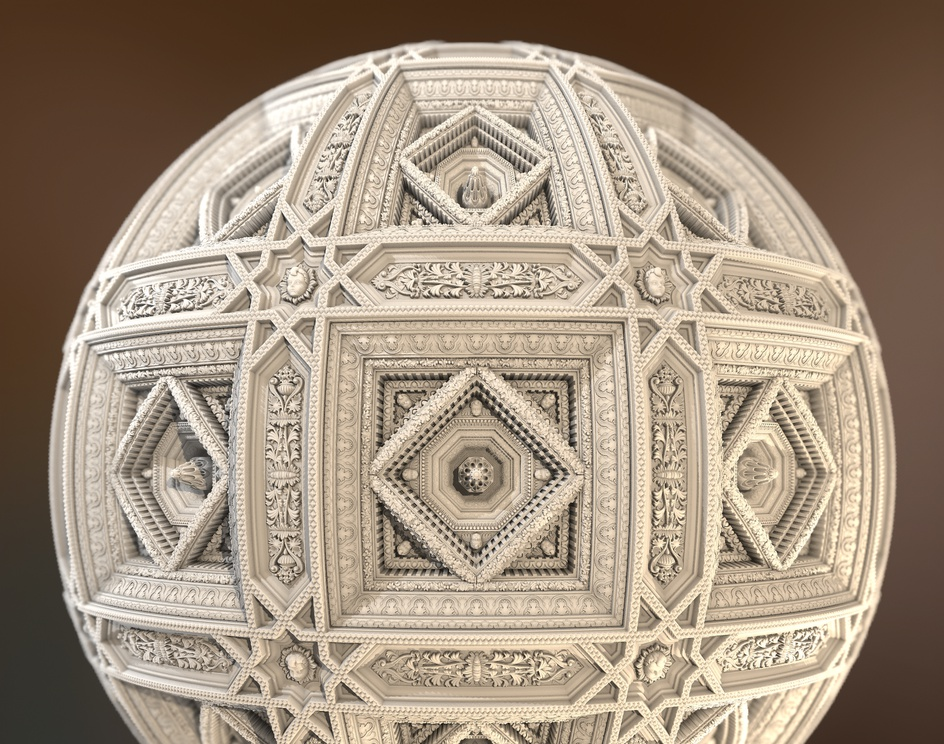 Procedural Palace Ceiling - Substance Designerby Marc Virgili