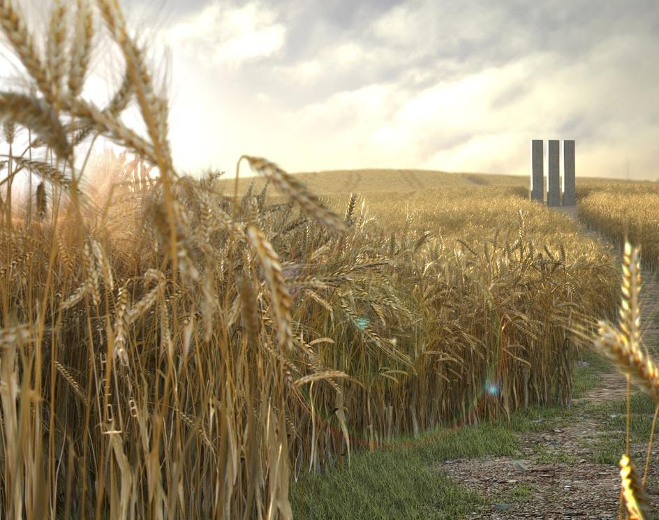 Wheat Field - Parallaxby Theo