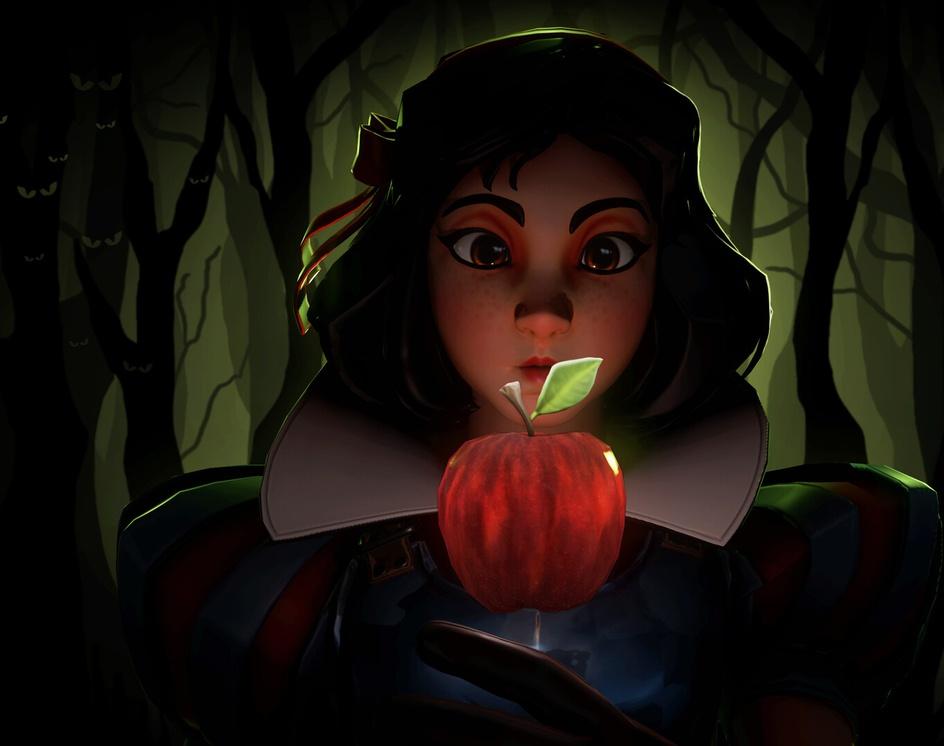 Snow White (game-ready)by Pau Peñalver