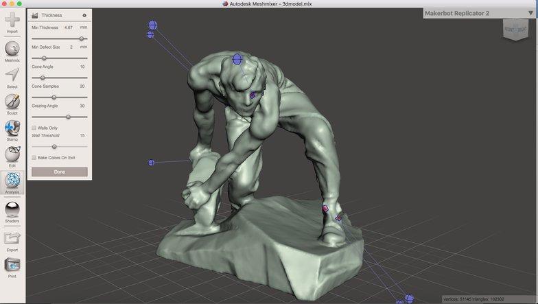 male figure 3d model