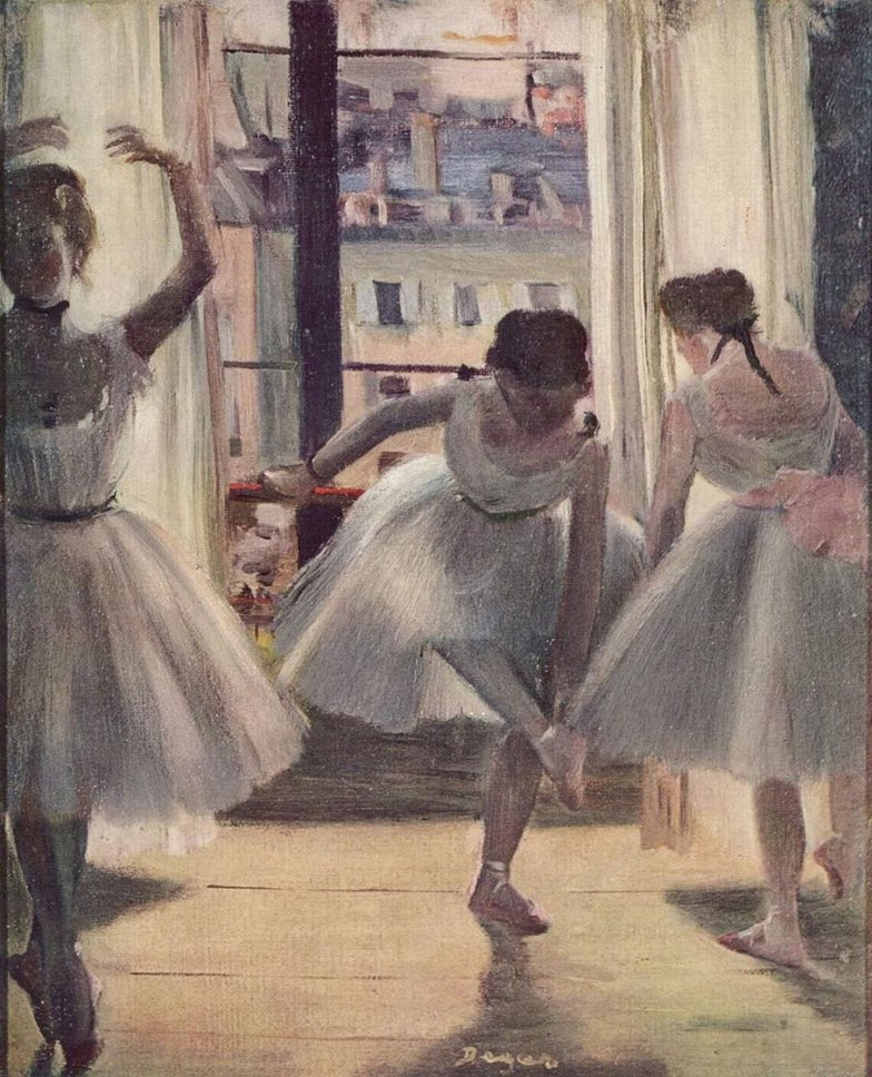 traditional painting ballerina