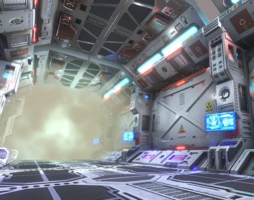Sci Fi Modular Corridor - Unityby Siamak Tavakoli