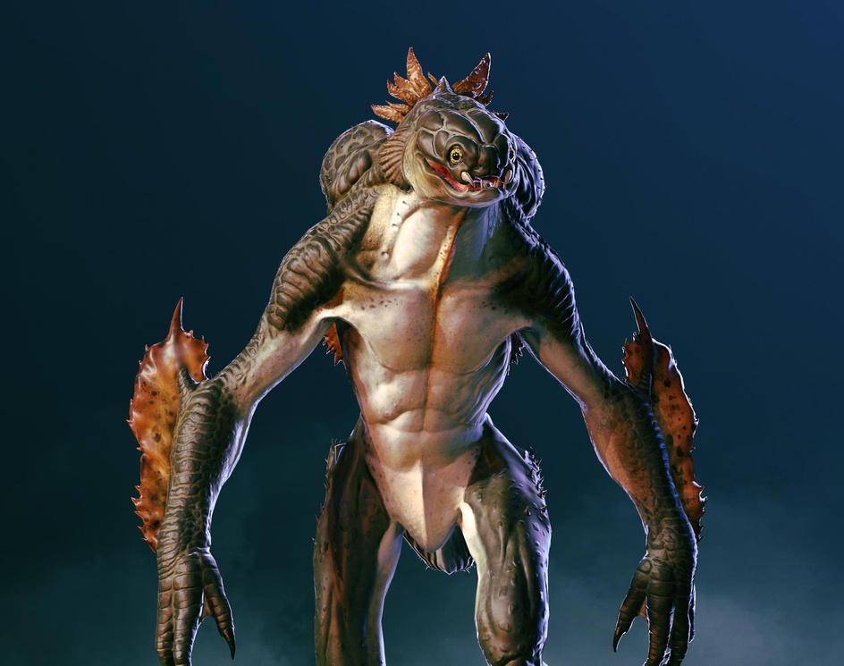 amphibian creatureby samuel keating