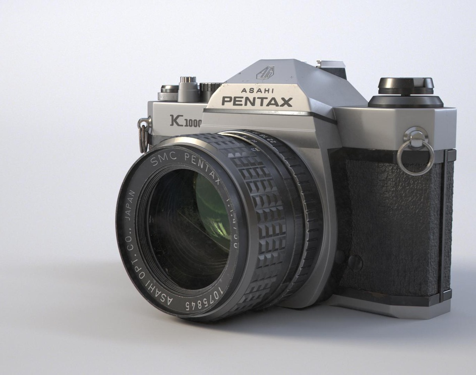 Pentax K1000by Gustavo Grazziano
