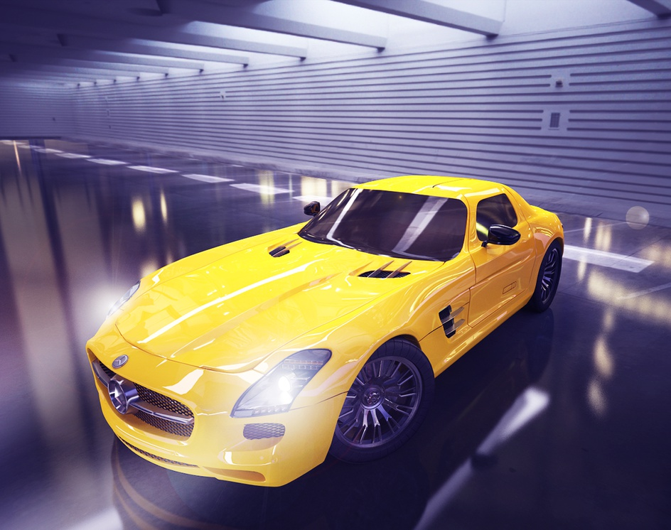 Mercedes Benz AMGby Ludovica di Biase