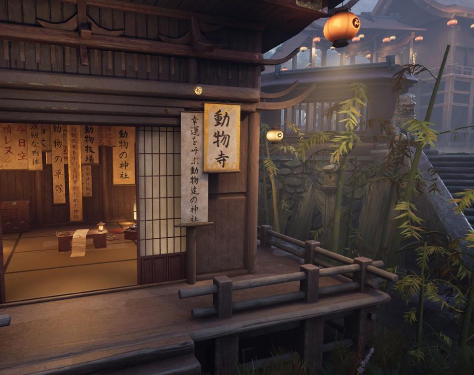 The Animal Shrine (Artstation Feudal Japan Challenge)by Peter Dimitrov