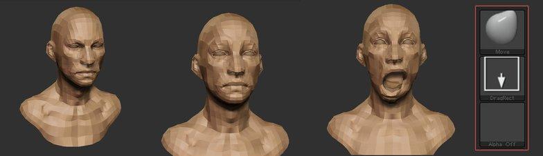 3d facial structuring