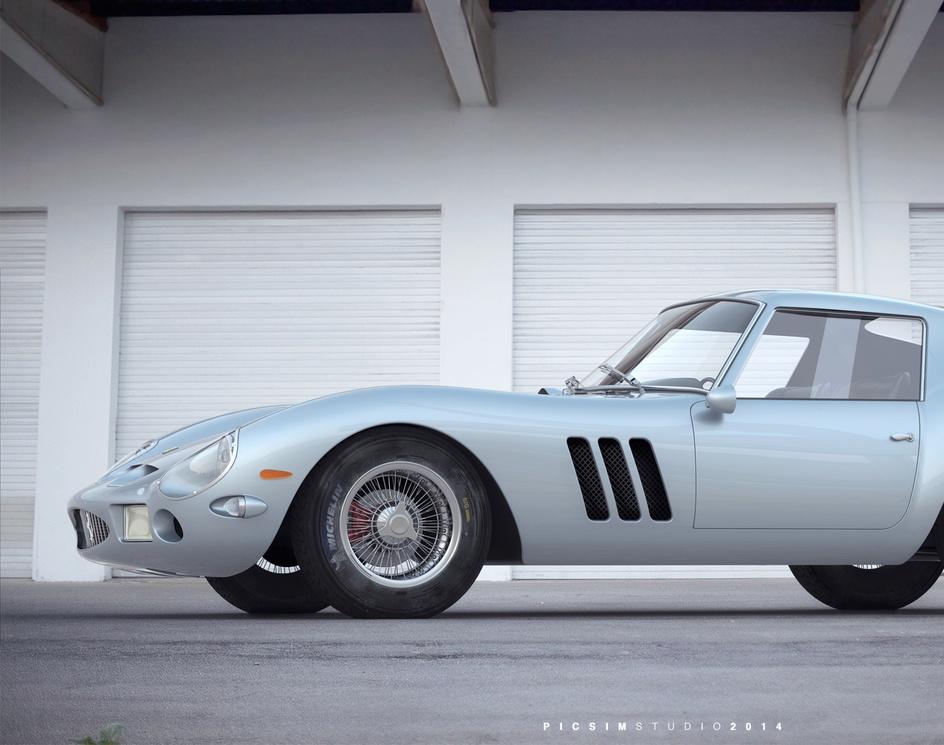 Ferrari 250 GTOby PICSIMstudio