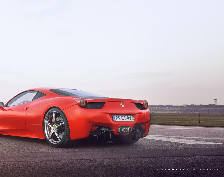 Ferrari Italia 458 3Dby PICSIMstudio