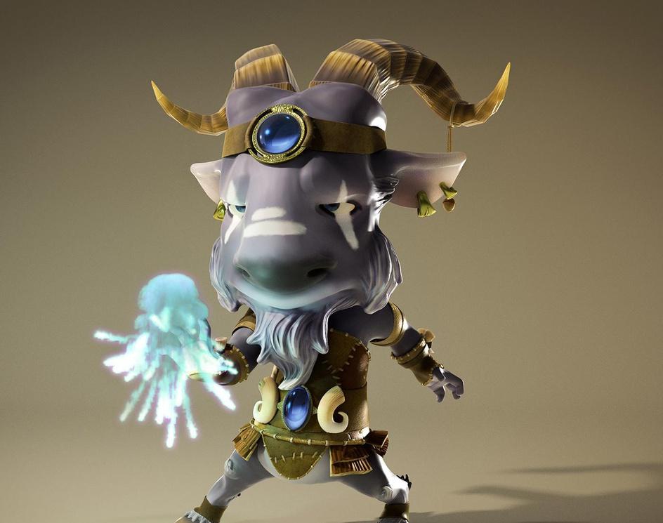 The Goat Sorcererby Pieriko