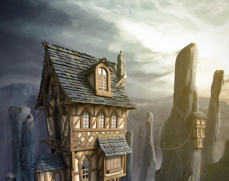 The Cliff towerby Pieriko