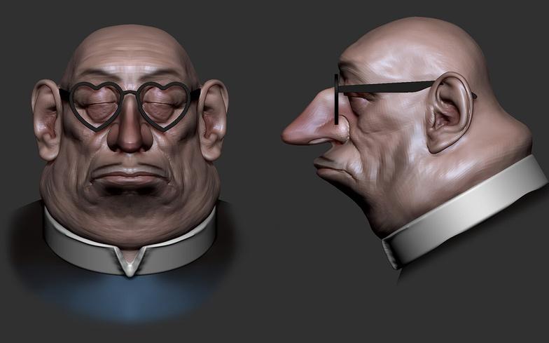 3d model skin