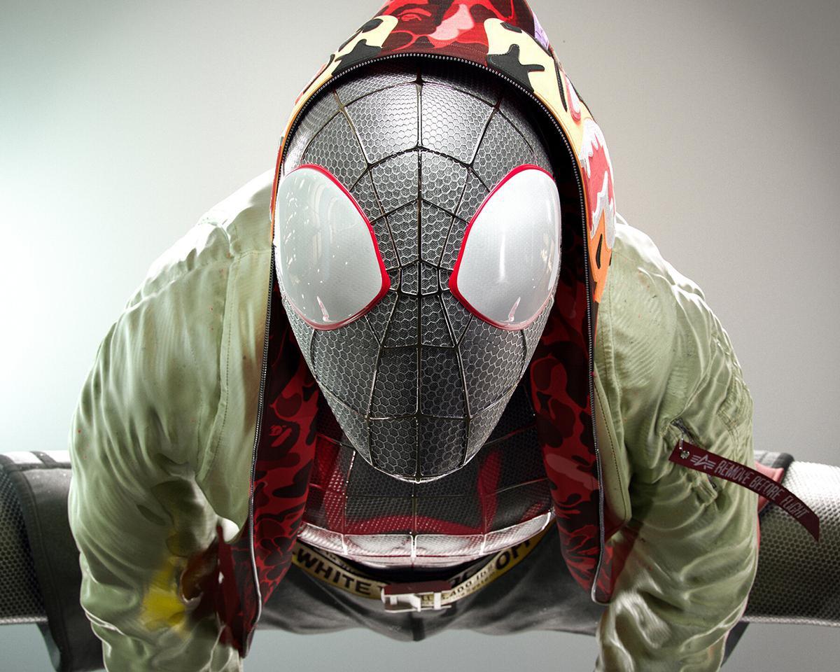 spider-man 3d marvel model