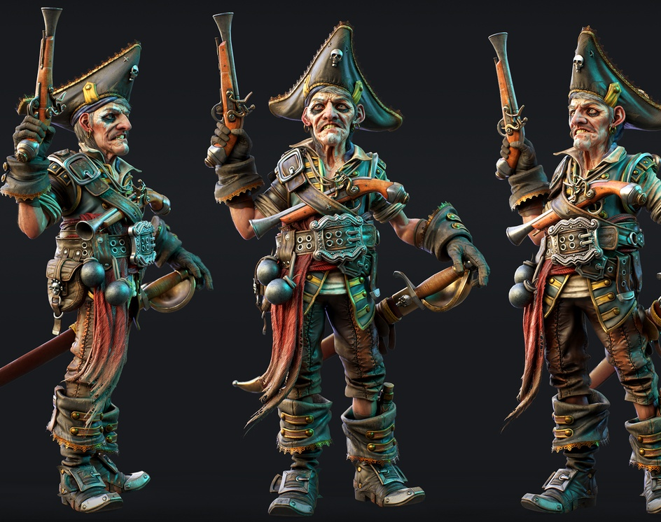 Pirate - Billy Bonesby Pierre Bourgeot