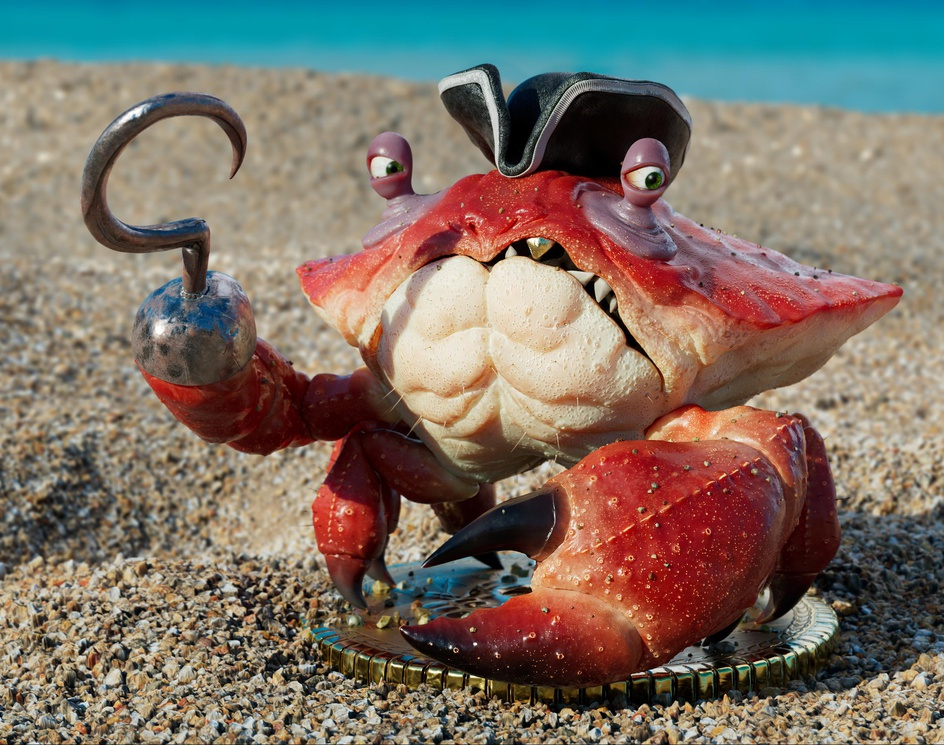 Pirate Crabby Muhammad Waseem