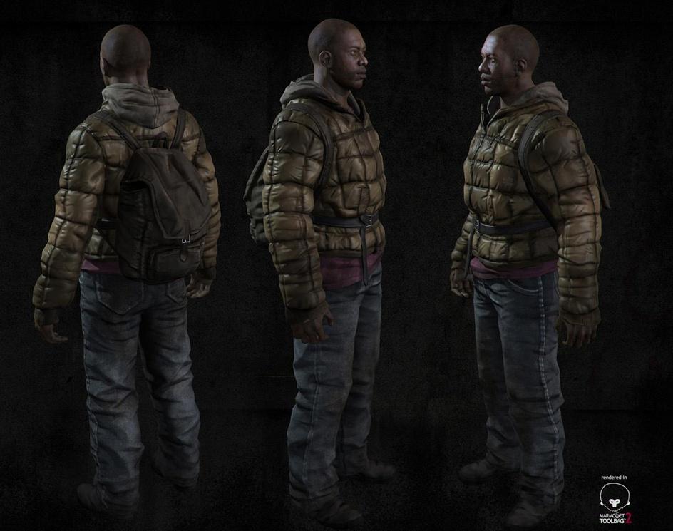 Black man survivorby PJ Torres