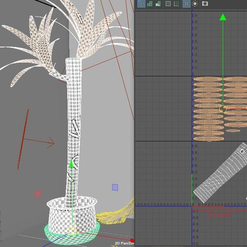 3d material separating textures
