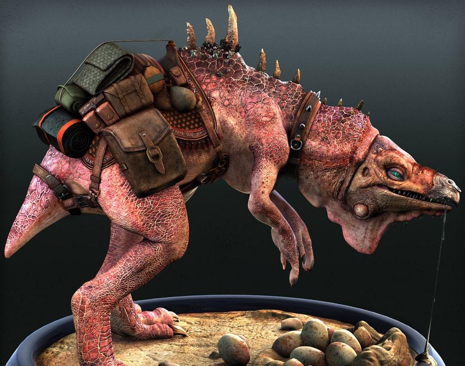 'Pack Beast'by Porkpie_Samurai