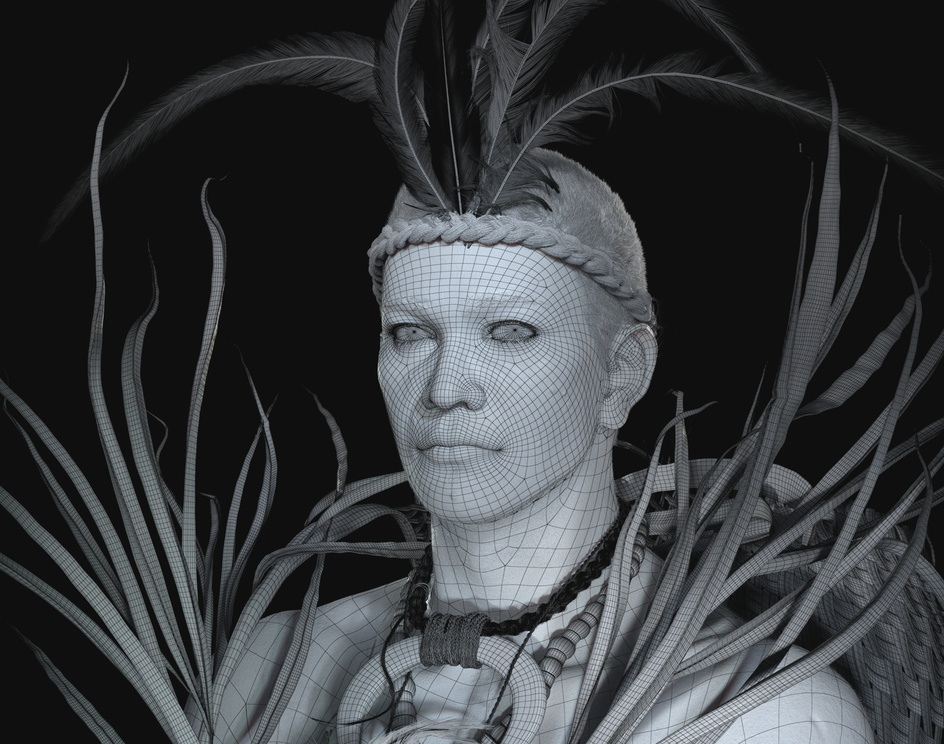 Marquesan Islanderby Angela Rico