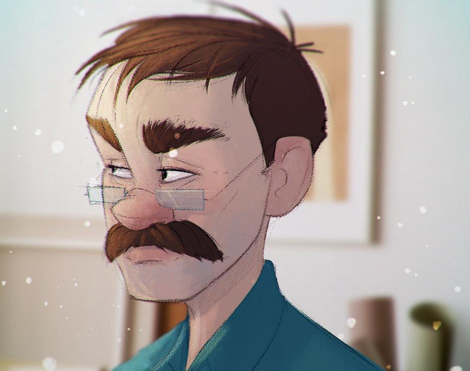 Mustacheby Fidel Nadarević