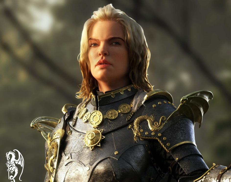 Jian   Dragon Knightby momenelwan