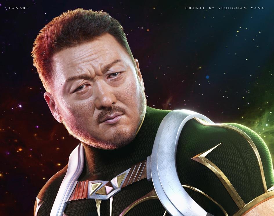 Marvel 'Eternals Gilgamesh Fanart' - Actor Don leeby yangsn0228