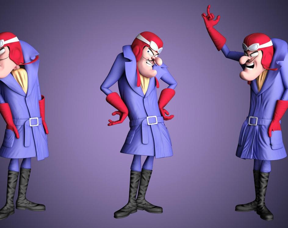 Dick Dastardly Character Demoreelby Piercarlo Osmi