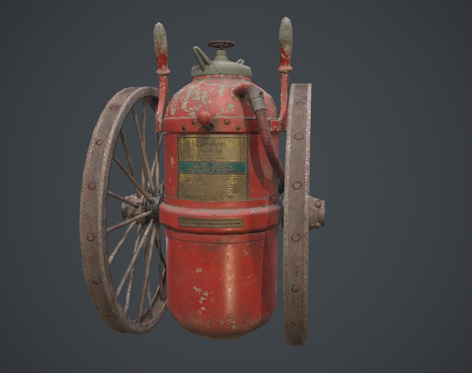 Fire Extinguisherby MOHD AADIL