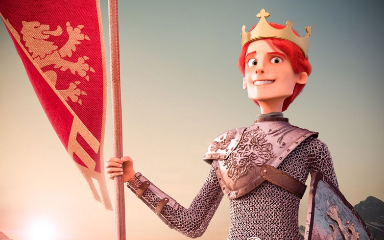 prince, 3d, character design, red head, king