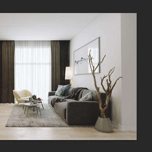 Model & texture a warm arch-viz interior using 3ds Max & Corona