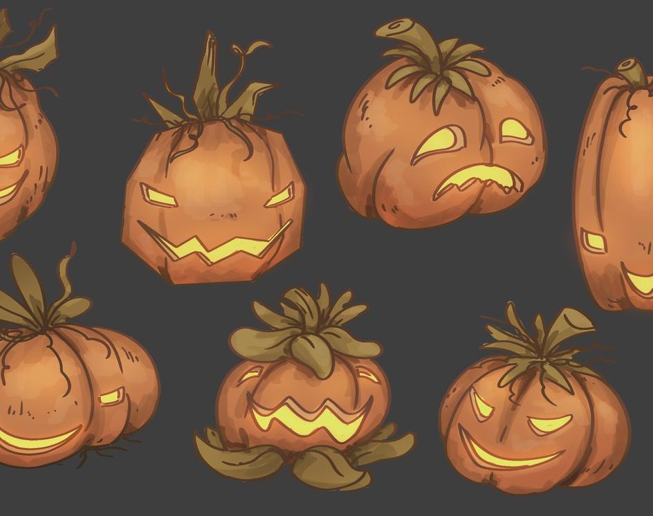 Pumpkin Reaperby Thiago Baltar