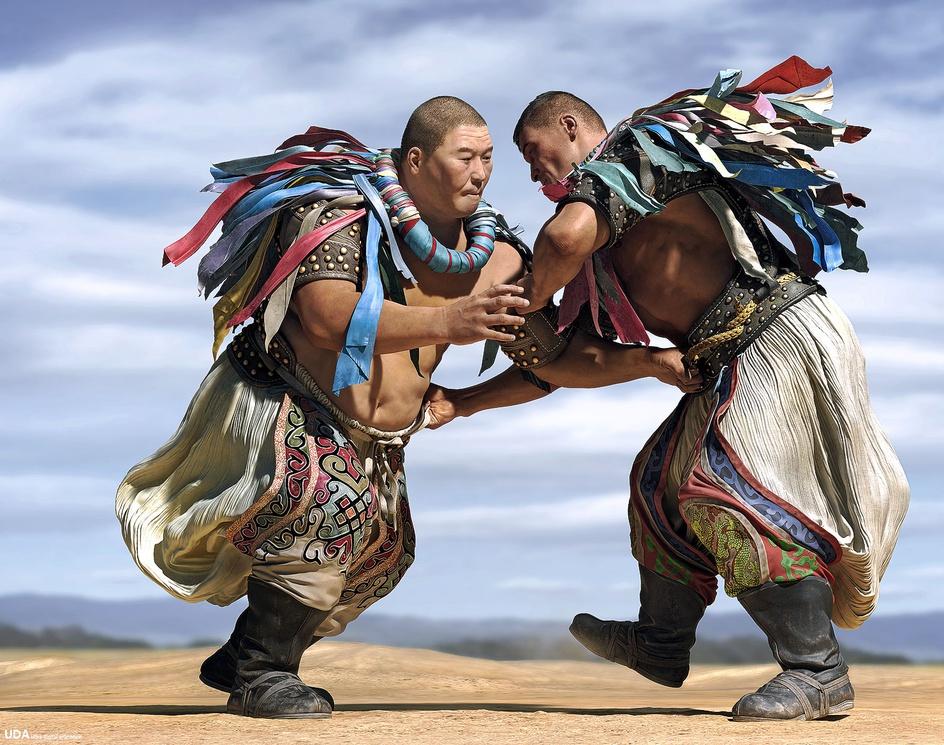 Inner Mongolia wrestlingby qianjun
