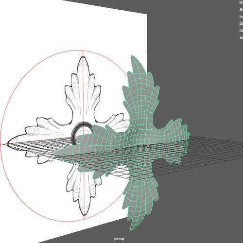quad draw tool maya outline
