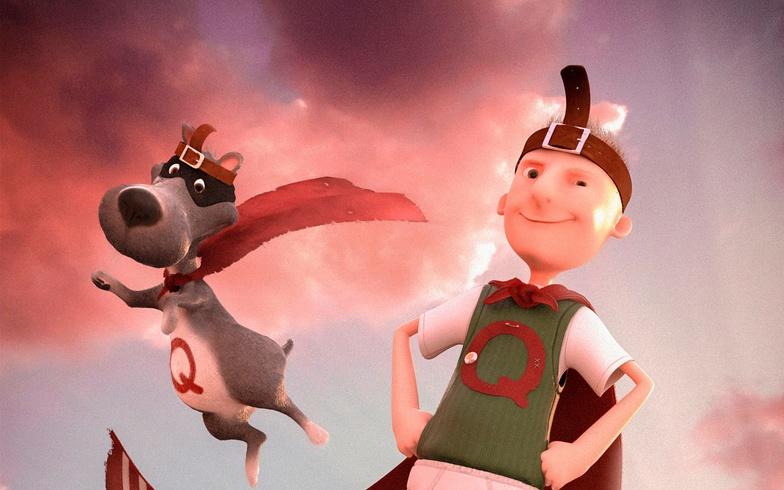 quail-man, dog, 3d, character design, zbrush, boy