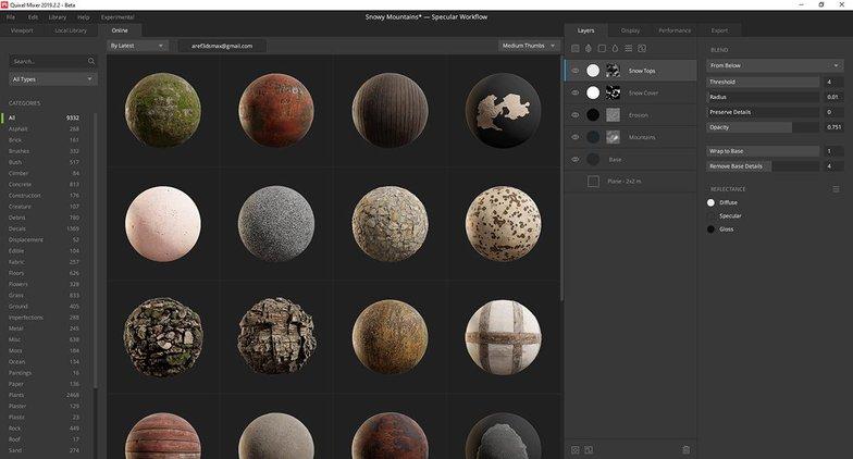 sphere materials