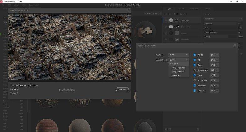 rocky ground texture details