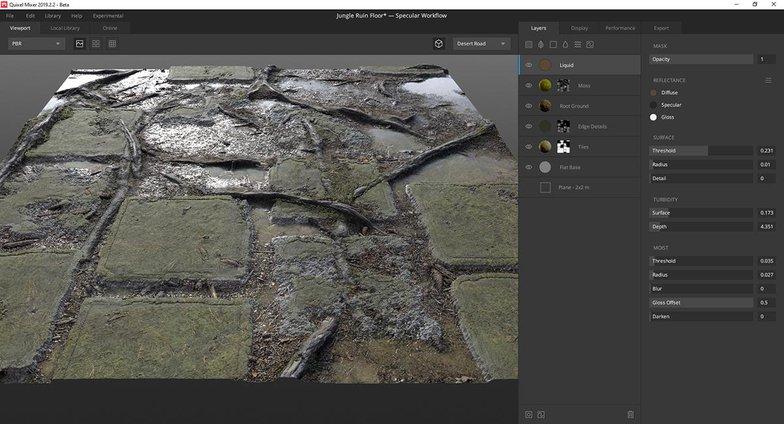 quixel mixer mossy floor