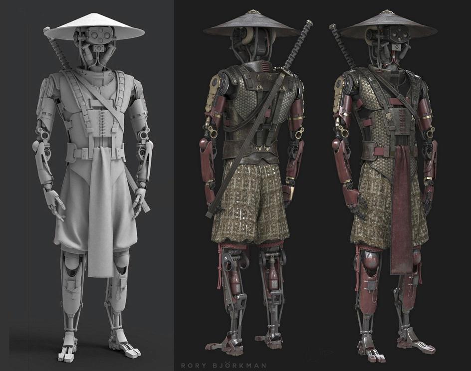 Samurai Mechby Björkman