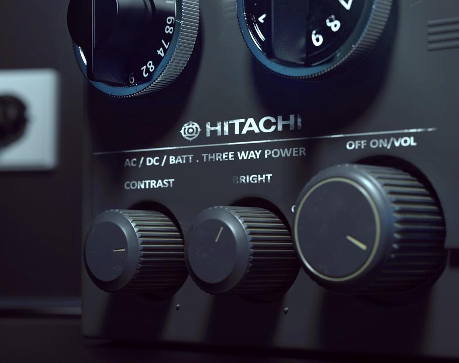 Hitachi TVby Rakan Khamash
