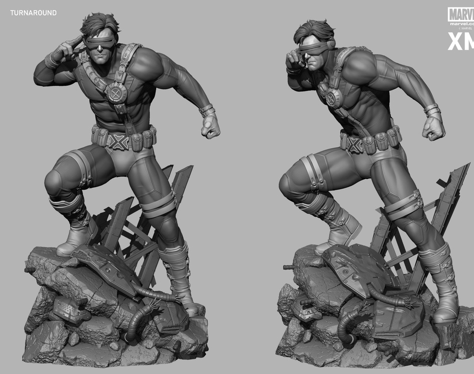Cyclops Statue XM Studiosby Rafael Mustaine
